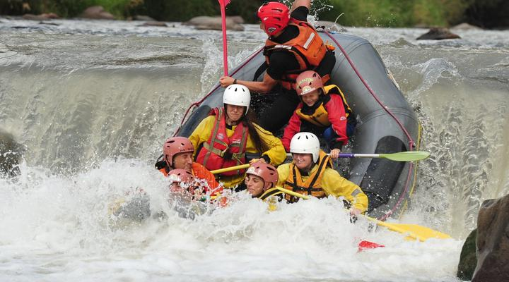 The adrenaline-filled world of rafting and canyoning