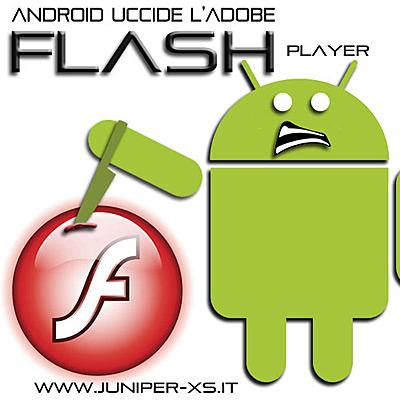 Android uccide l'Adobe Flash Player