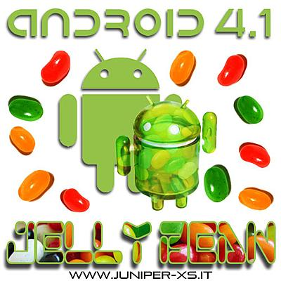 Google Android 4.1 Jelly Bean (JB)