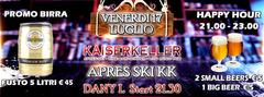 Apres Ski KK Friday Night Kaiserkeller Pub