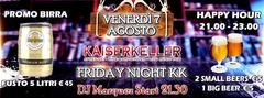 Friday KK Night with Dj Marquez