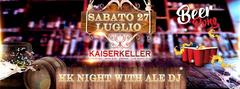 Kaiserkeller Night Beer Pong with Ale Dj