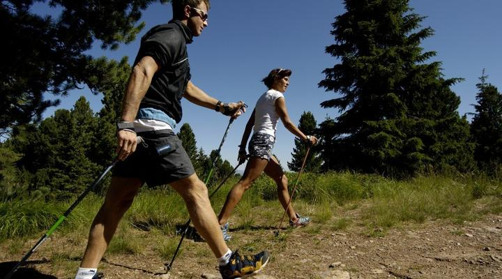 Nordic walking... The Fiemme Vitality Park Trentino