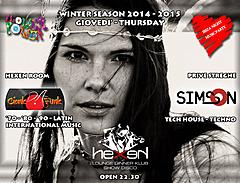 GIOVEDI' - TUESDAY WINTER SEASON 2014 - 2015 HEXEN KLUB