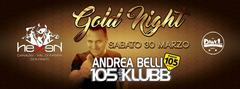 Gold Night Radio 105 with Andrea Belli Hexen Klub Canazei