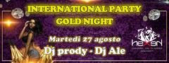 International Gold Party Disco Hexen Klub Canazei