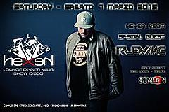 SPECIAL GUEST RUDY MC AT HEXEN KLUB