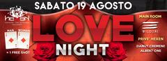 LOVE NIGHT Hexen Klub Canazei