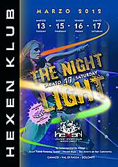 THE NIGHT LIGHT MARZO 2012 13-15-16-17