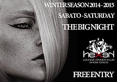SABATO -SATURDAY WINTER SEASON 2014 - 2015 HEXEN KLUB