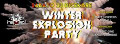 Winter Explosion Party Disco Hexen Klub Canazei