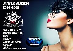 MARTEDI' - TUESDAY WINTER SEASON 2014 - 2015 HEXEN KLUB