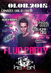 FLUO PARTY HEXEN KLUB