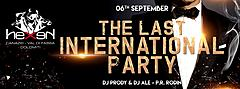 THE LAST INTERNATIONAL PARTY Hexen Klub