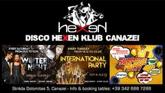 Winter Season 2018-2019 Disco Hexen Klub Canazei
