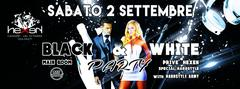 BLACK & WHITE PARTY Hexen Klub Canazei