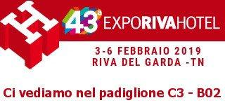 Expo Riva Hotel we're coming!