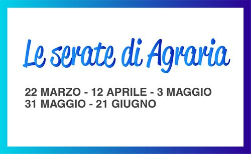 ''The Evenings of Agraria'': spring session