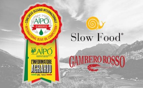 It's raining prizes: Uliva and 46° Parallelo on Aipo d'Argento's, Gambero Rosso's and Slow Food's podiums