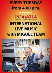 International Live music with Miguel