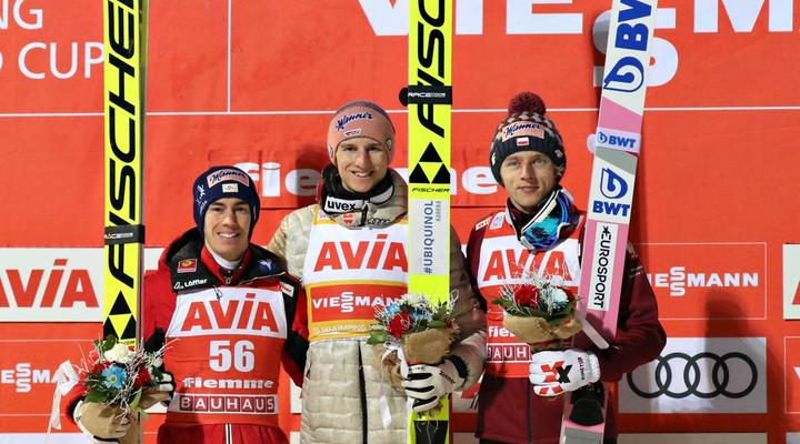 Geiger victorious again in Val di Fiemme