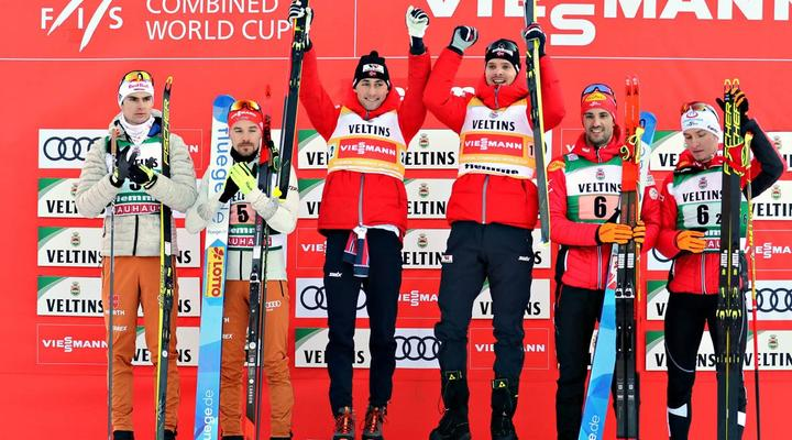Riiber/Graabak win in Val di Fiemme Team Sprint