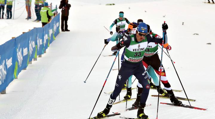 """IN JANUARY THE """"TRIPLE"""" OF NORDIC COMBINED"""