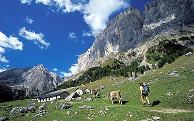 trekking in fiemme valley